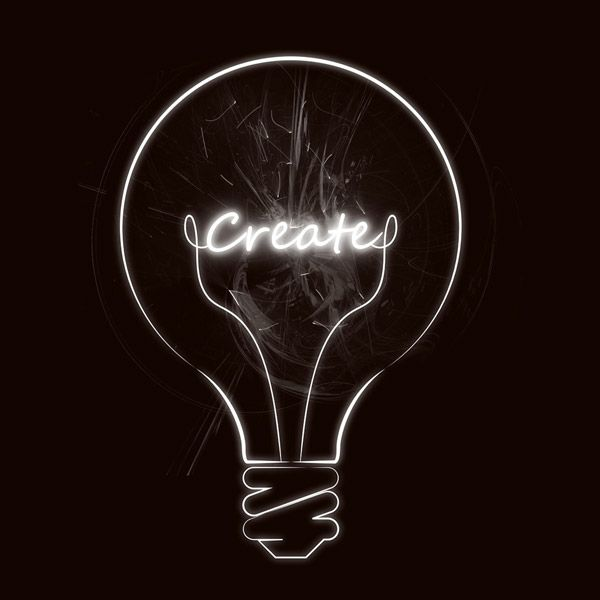 create lightbulb