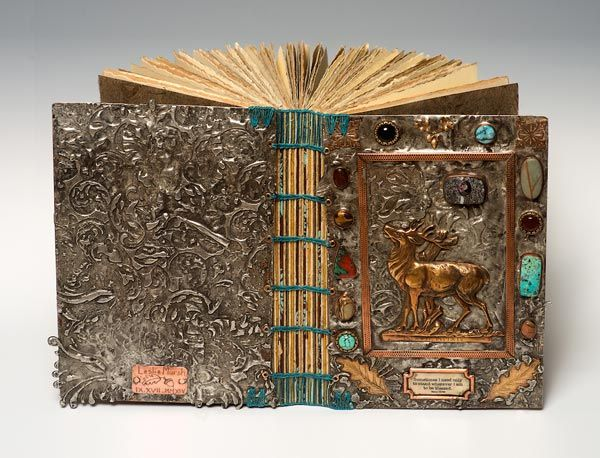 Leslie Marsh handmade book