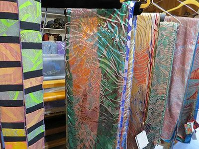 Batch of scarves by Janet Taylor