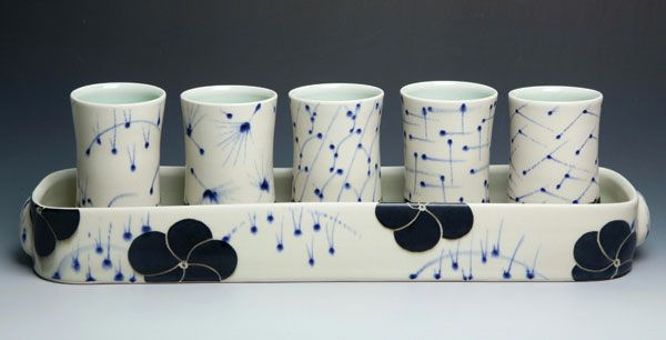 Kristen Swanson finished pottery