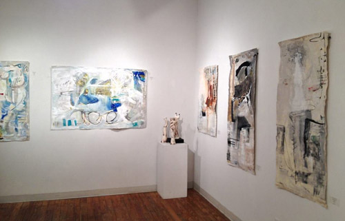 Elaine Weiner-Reed Featured Artist - NCAG 2013 Chelsea NYC, Raw Edges - Soliloquy