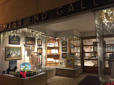 West End Gallery storefront