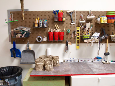 A well organized workspace promotes safety